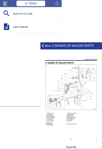 Refer to User's Manual