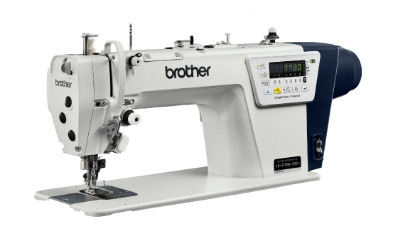 Single Needle Lockstitch Sewing Machine with Side Cutter