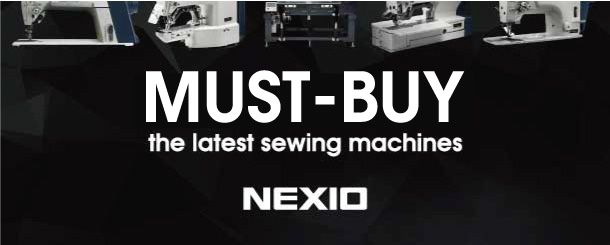 Top-selling sewing machines NEXIO series lineup
